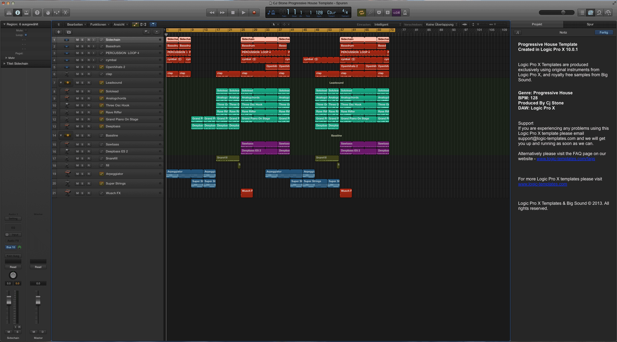 progressive house logic pro x template progressive house logic pro x template