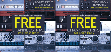 FREE CHANNEL STRIPS FOR LOGIC PRO X