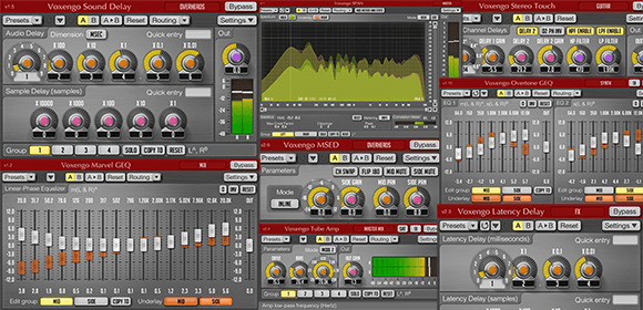 14 Free VST Plugins and Free AU PlugIns by Voxengo