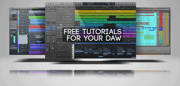 free tutorials for your daw