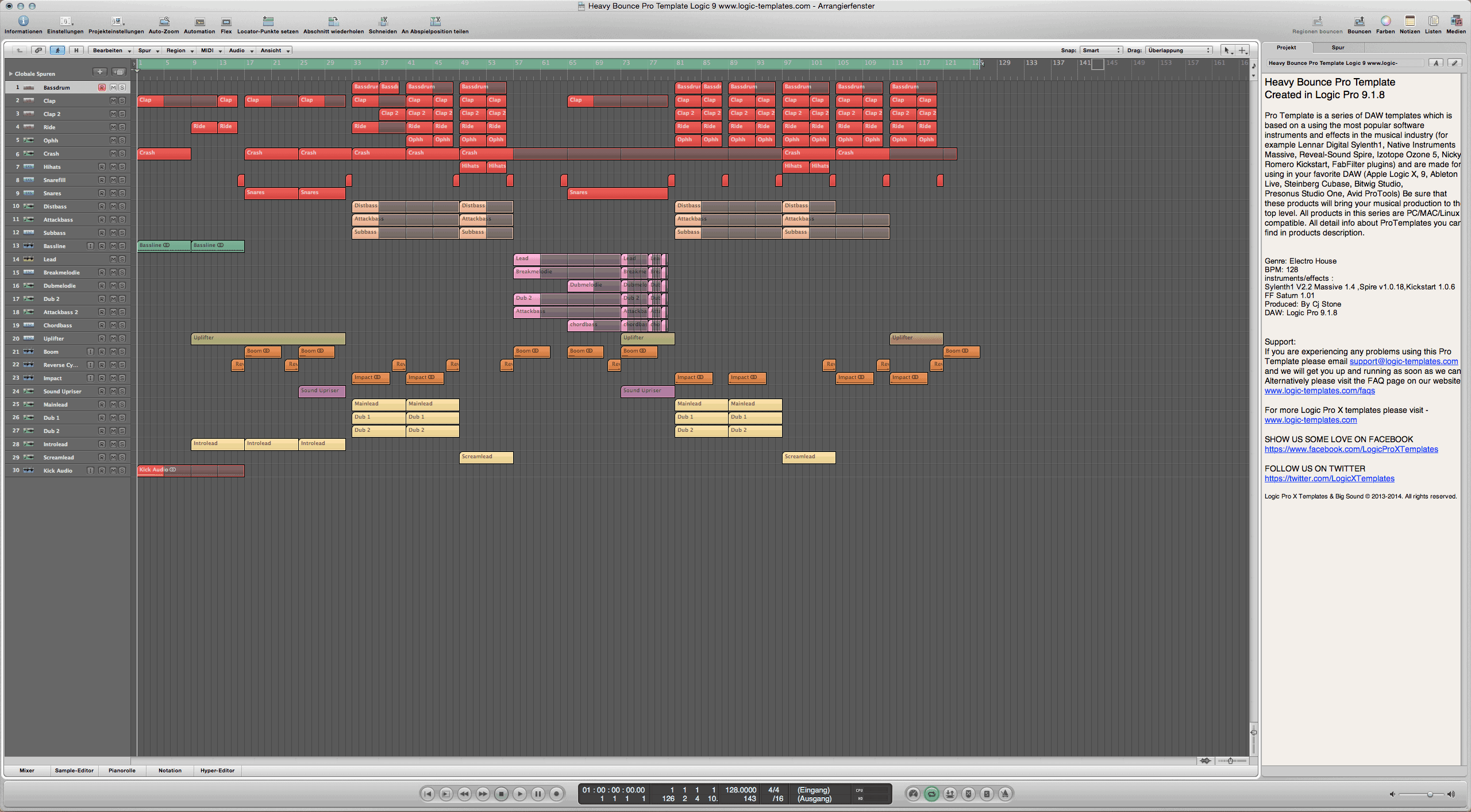Heavy Bounce Pro Template Logic 9 1