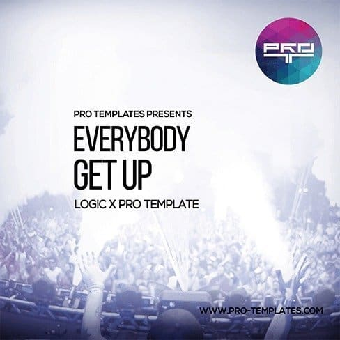 Everybody Get Up Logic X Pro Template