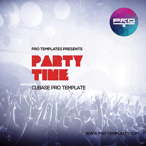 Party-Time-Cubase-Pro-Template