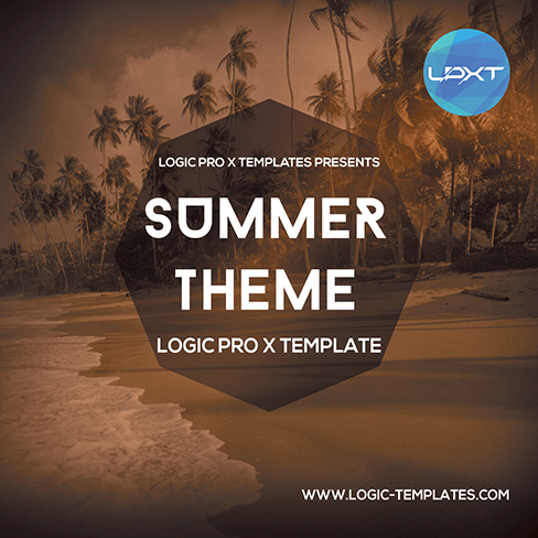 Summer-Theme-Logic-Pro-X-Template