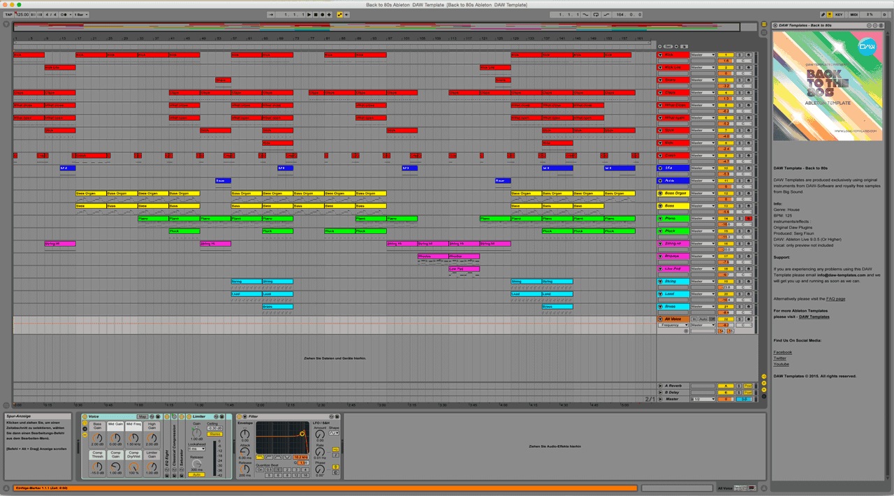 Back-to-80s-Ableton--DAW-Template