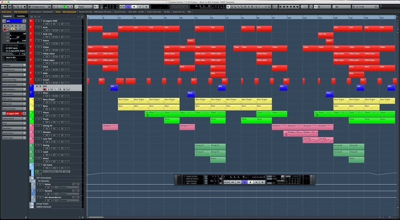 Back-to-80s-Cubase--DAW-Template