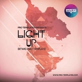 Light-Up-Bitwig-Pro-template