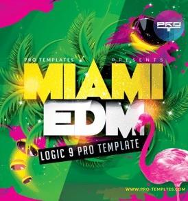 Miami-EDM-Logic-9-Pro-Template