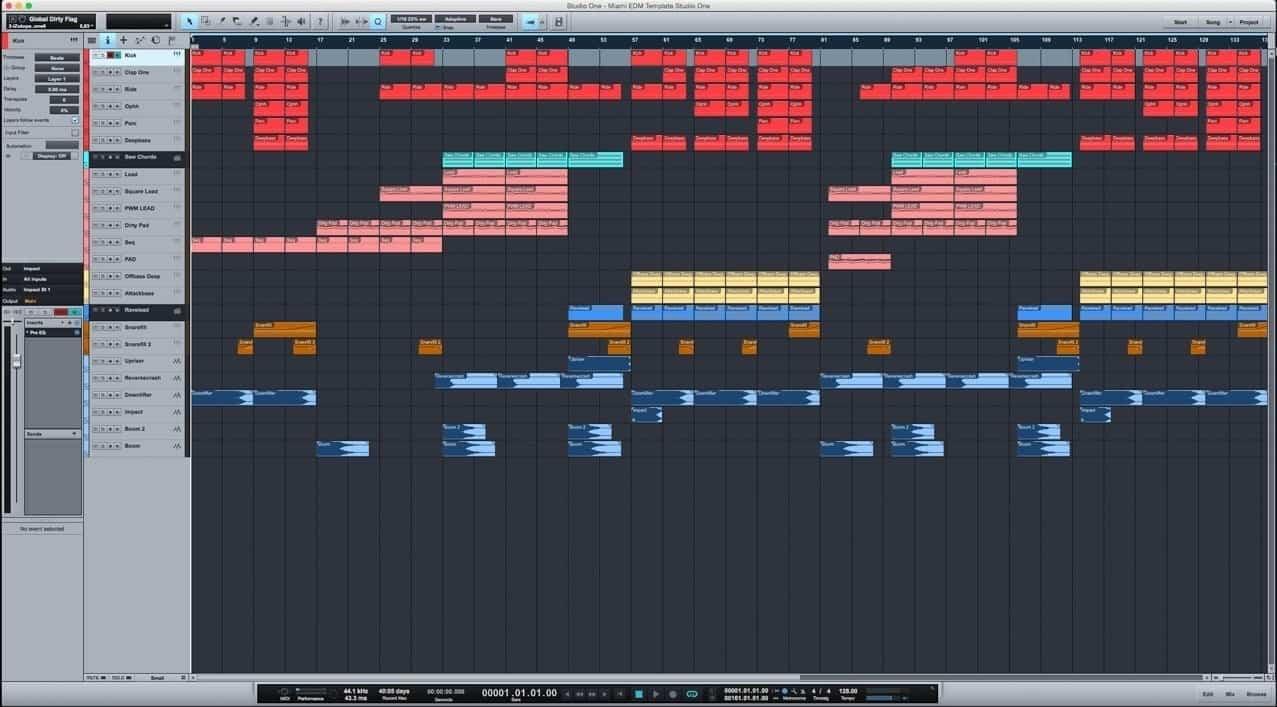 Miami-EDM-Template-Studio-One
