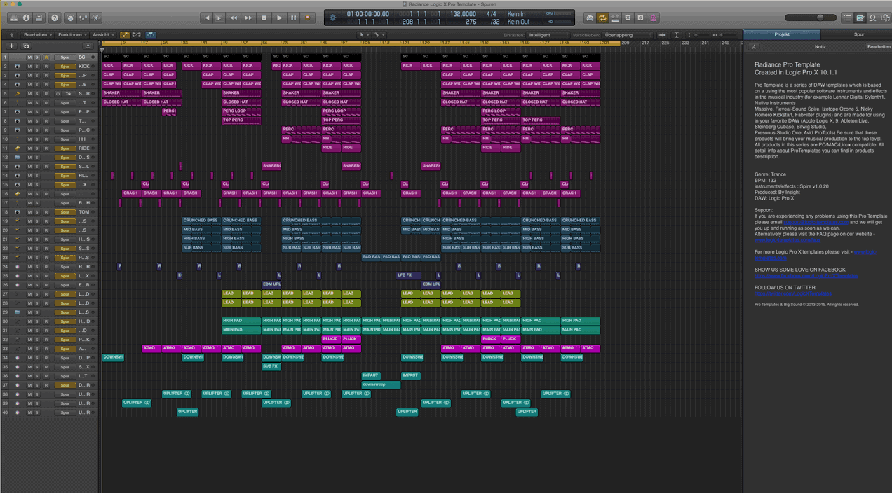 Radiance-Logic-X-Pro-Template
