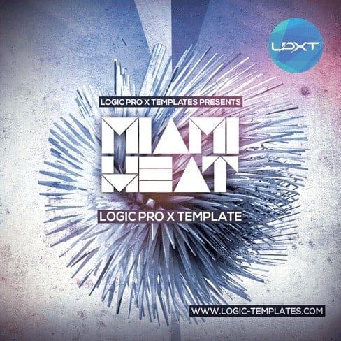 Miami-Heat-Logic-X-Template