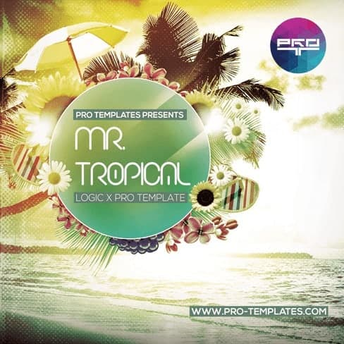 Mr.Tropical-Logic-X-Pro-template