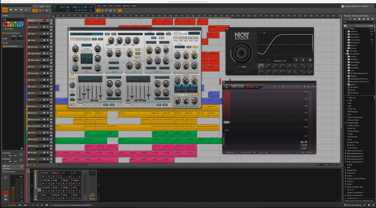 Reaction-Bitwig-Pro-Template-2