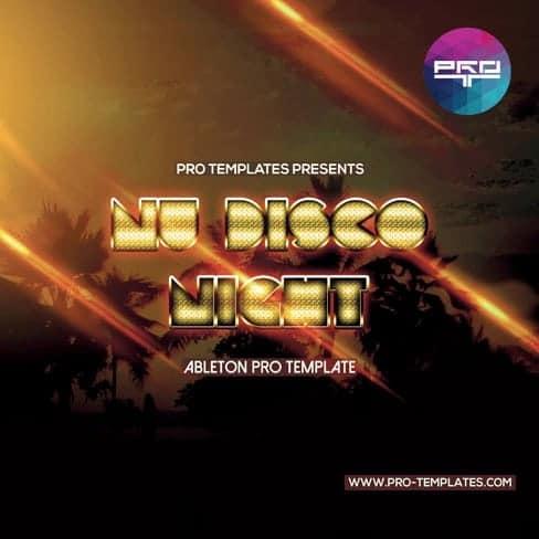 Nu-Disco-Night-Ableton-Pro-template