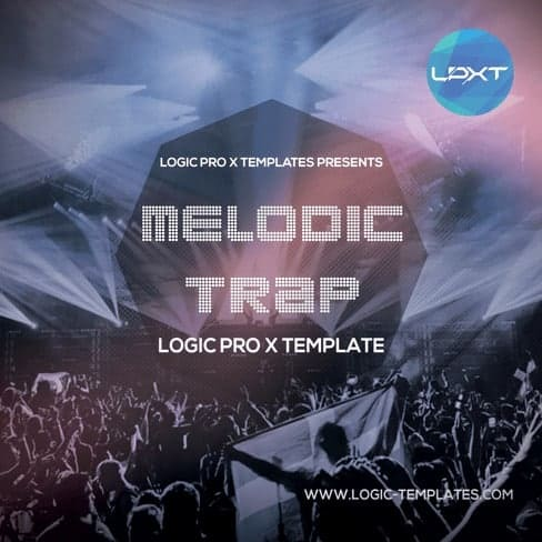 melodic-trap-Logic-X-Template