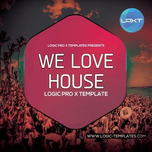 we-love-house-Logic-Pro-X-Template