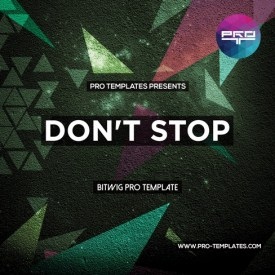 Don't-Stop-Bitwig-Pro-template