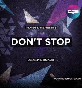 Don't-Stop-Cubase-Pro-template