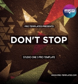 Don't-Stop-Studio-One-3-Pro-template