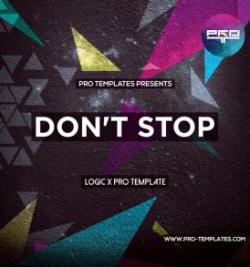 Don't-Stop-logic-X-Pro-template