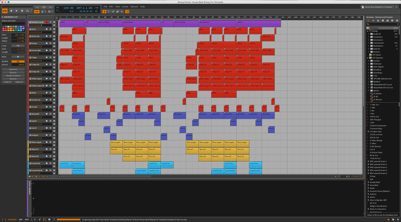 House-Beat-Bitwig-Pro-Template2