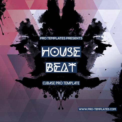 House-Beat-Cubase-Pro-template