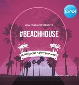 #Beachhouse-Studi-One-DAW-Template