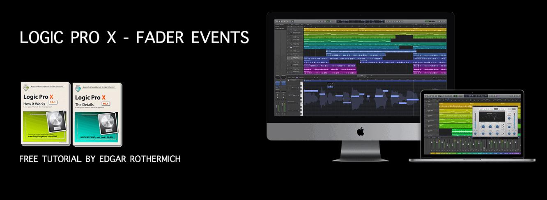 Logic Pro X - Fader Events