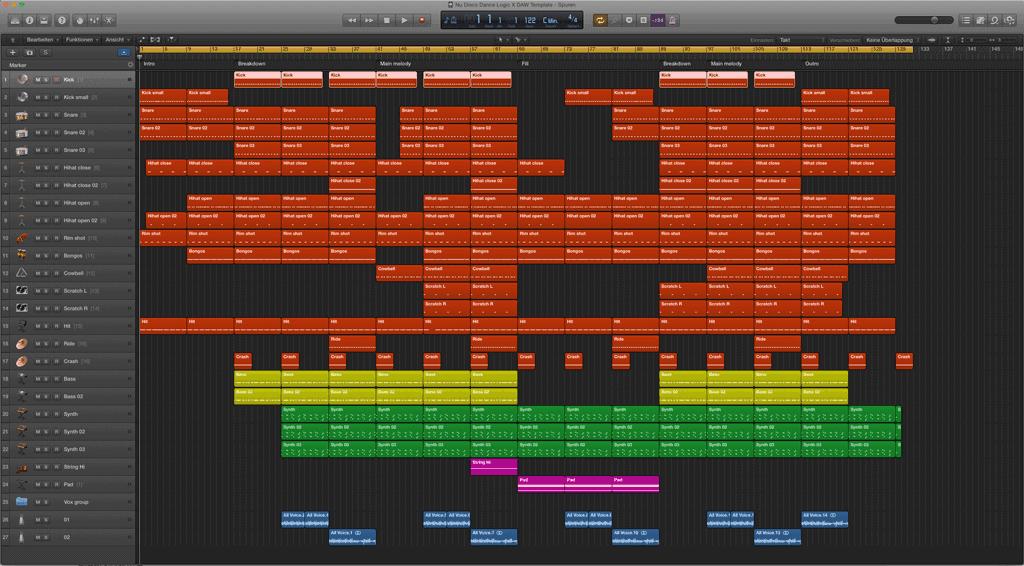 Nu-Disco-Dance-Logic-Pro-X-Template