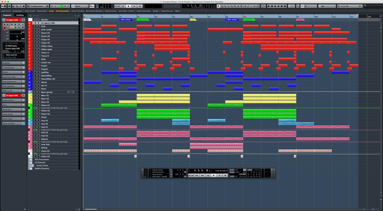 Piano-Love-Cubase-Pro-Template1