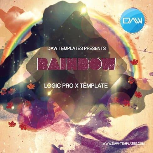 Rainbow-Logic-Pro-X-Template