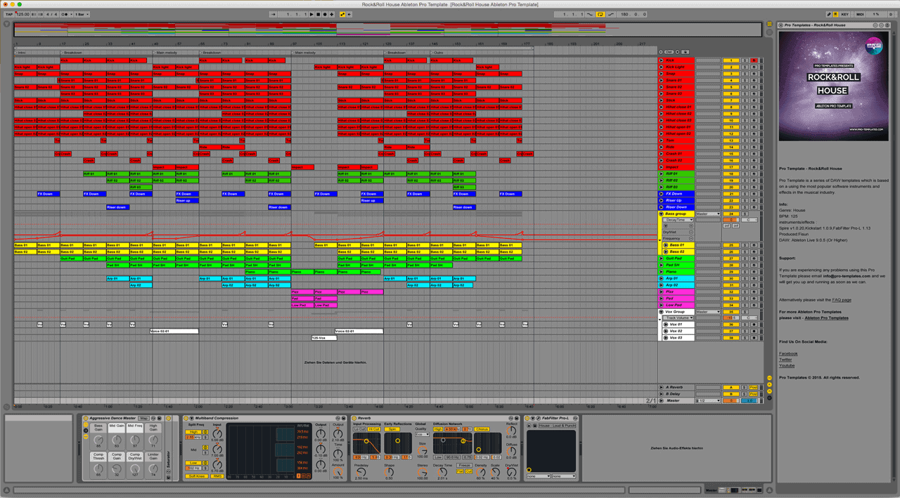 Rock&Roll House Ableton Pro Template1
