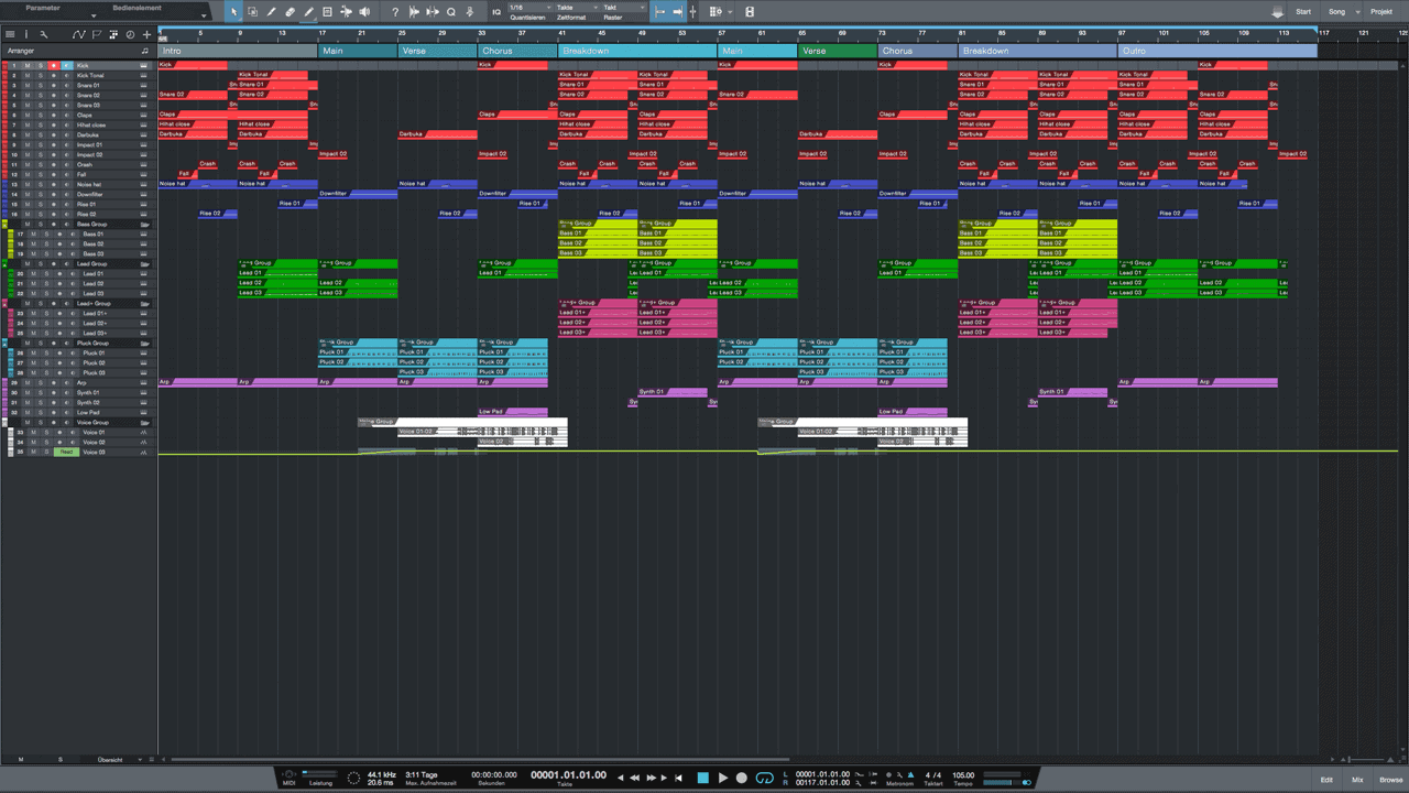Tropical-Reggaeton-Studio-One-Pro-Template1