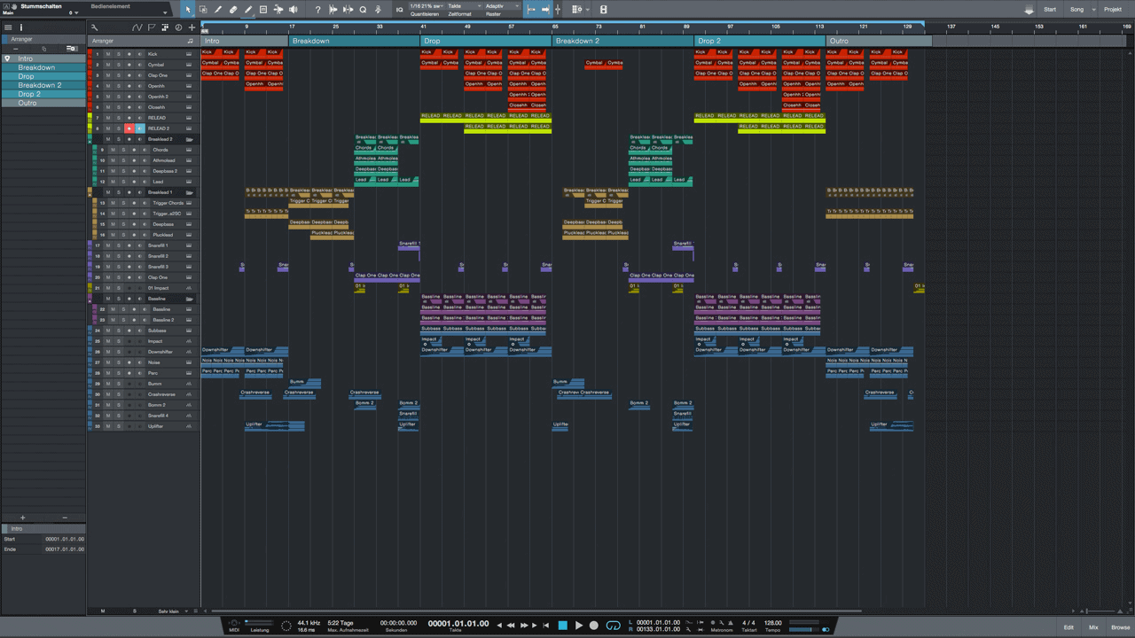 East-West-EDM-Sttudio-One-3-Pro-Template1