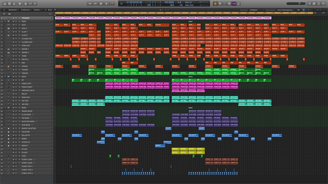 Get Funky Logic Pro X Template