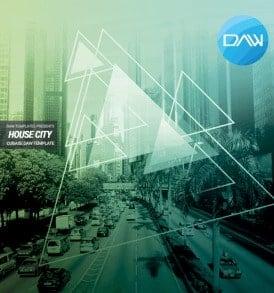 House-City-Cubase-DAW-Template
