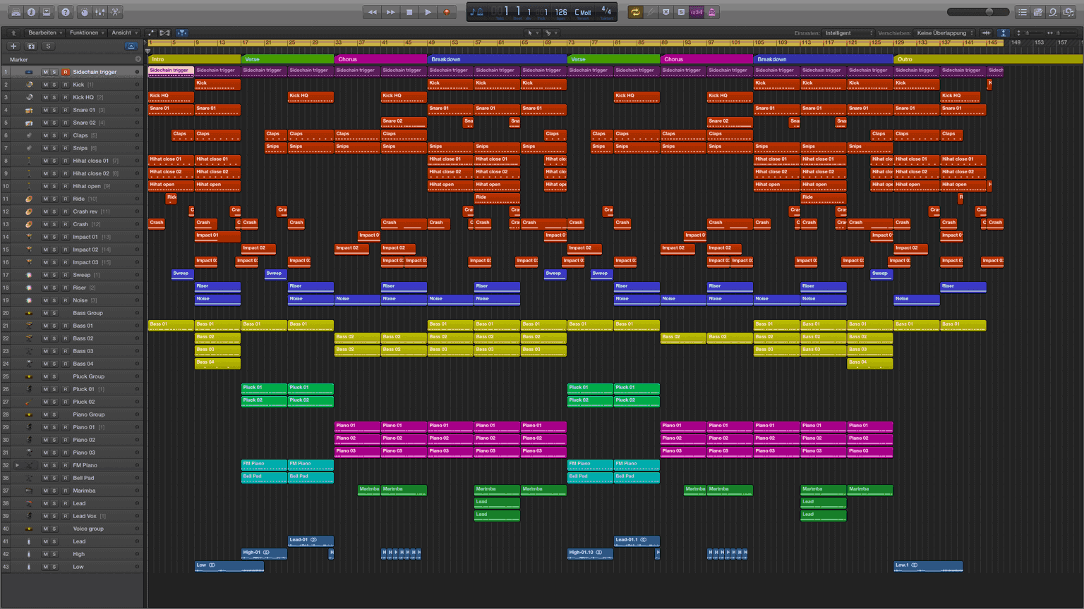 House city logic pro x template maxwellsz