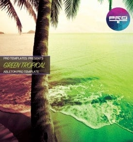 Green-Tropical-Ableton-Pro-Template