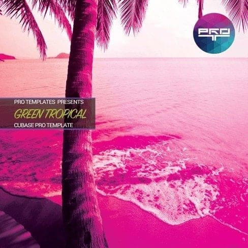 Green-Tropical-Cubase-Pro-Template