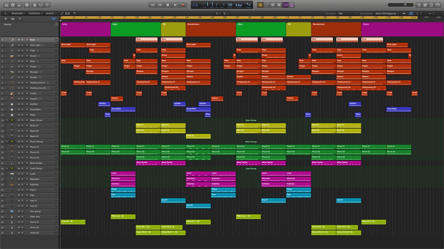 Green-Tropical-Logic-X-Pro-Template1