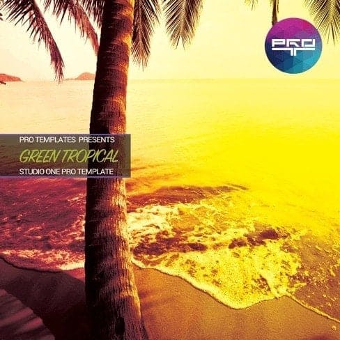Green-Tropical-Studio-One-Pro-Template