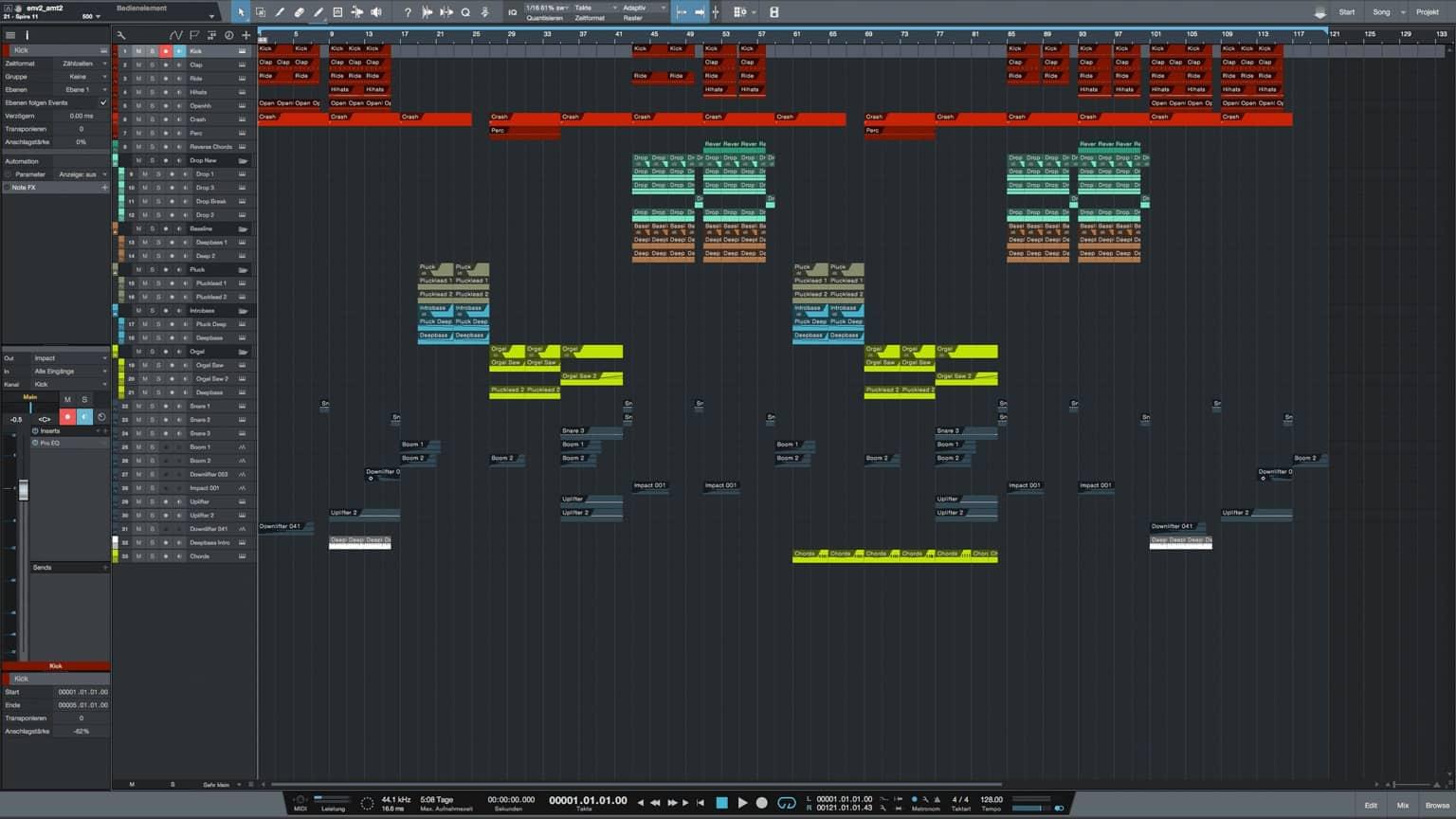 Running-Studio-One-Pro-Template1
