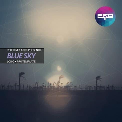 Blue-Sky-Logic-X-Pro-Template