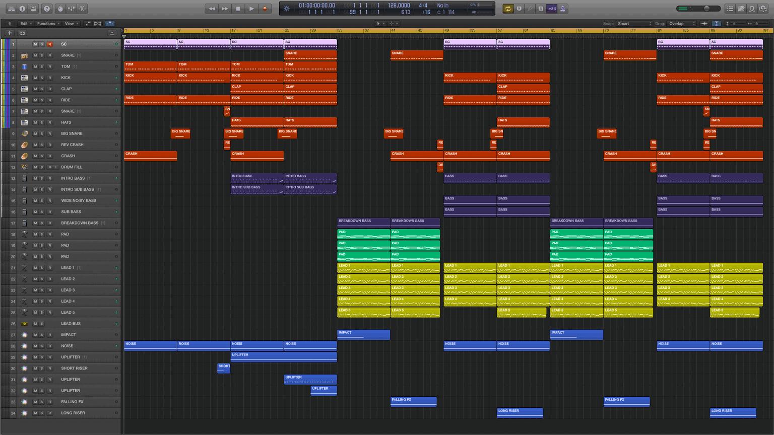 Warrior-Logic-Pro-X-Template1