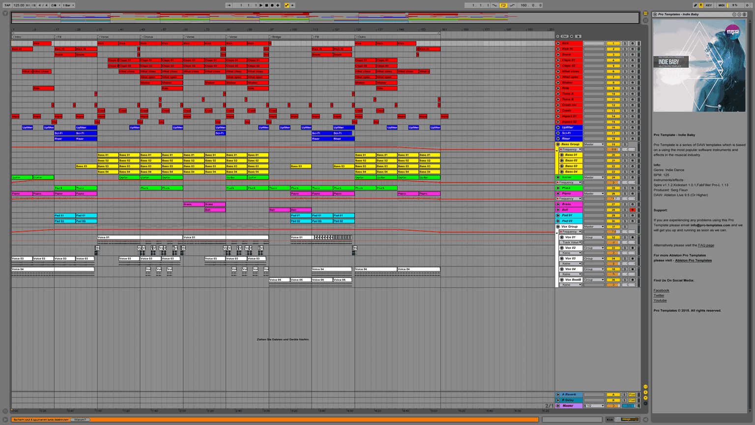 Indie-Baby-Ableton-Pro-Template-Project1