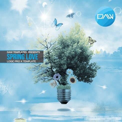 Spring-love-Logic-Pro-X-Template