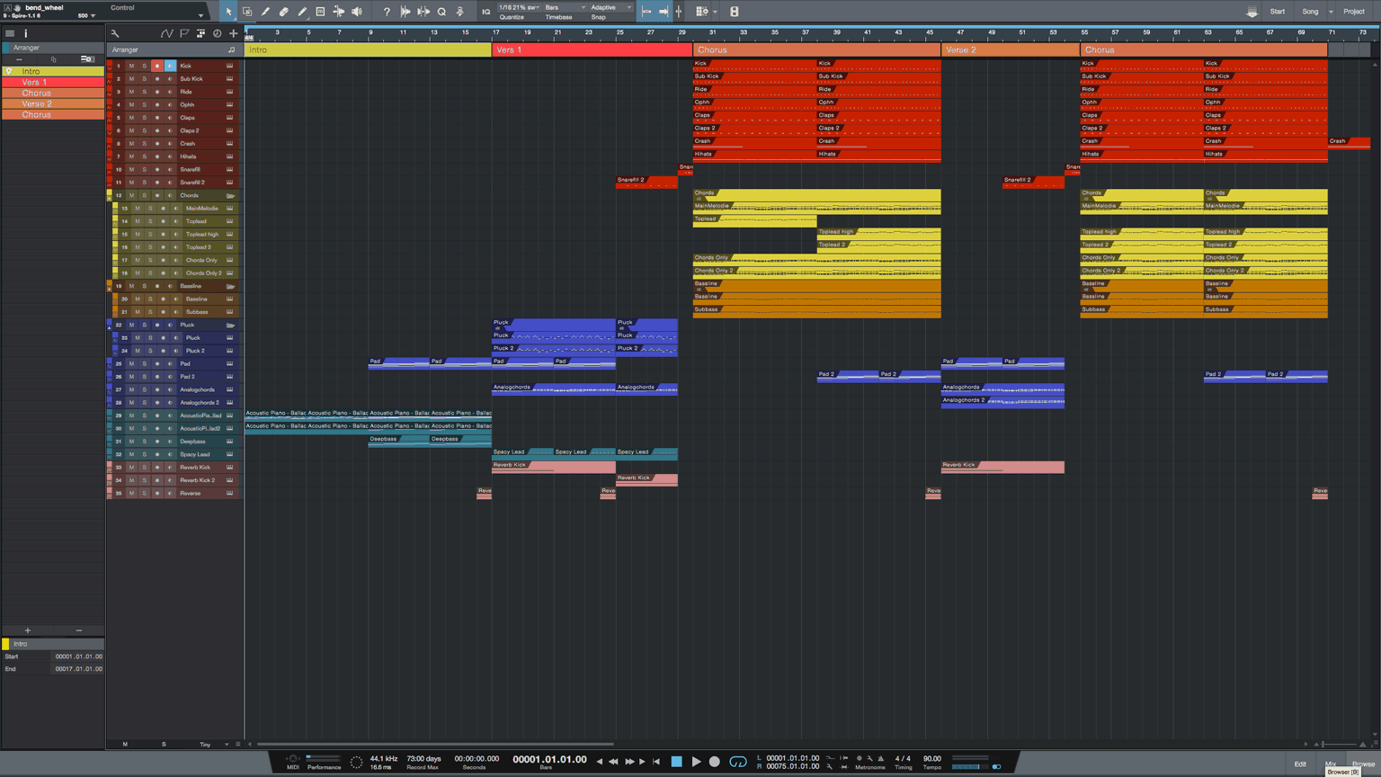 Walking-Studio-One-Pro-Template1