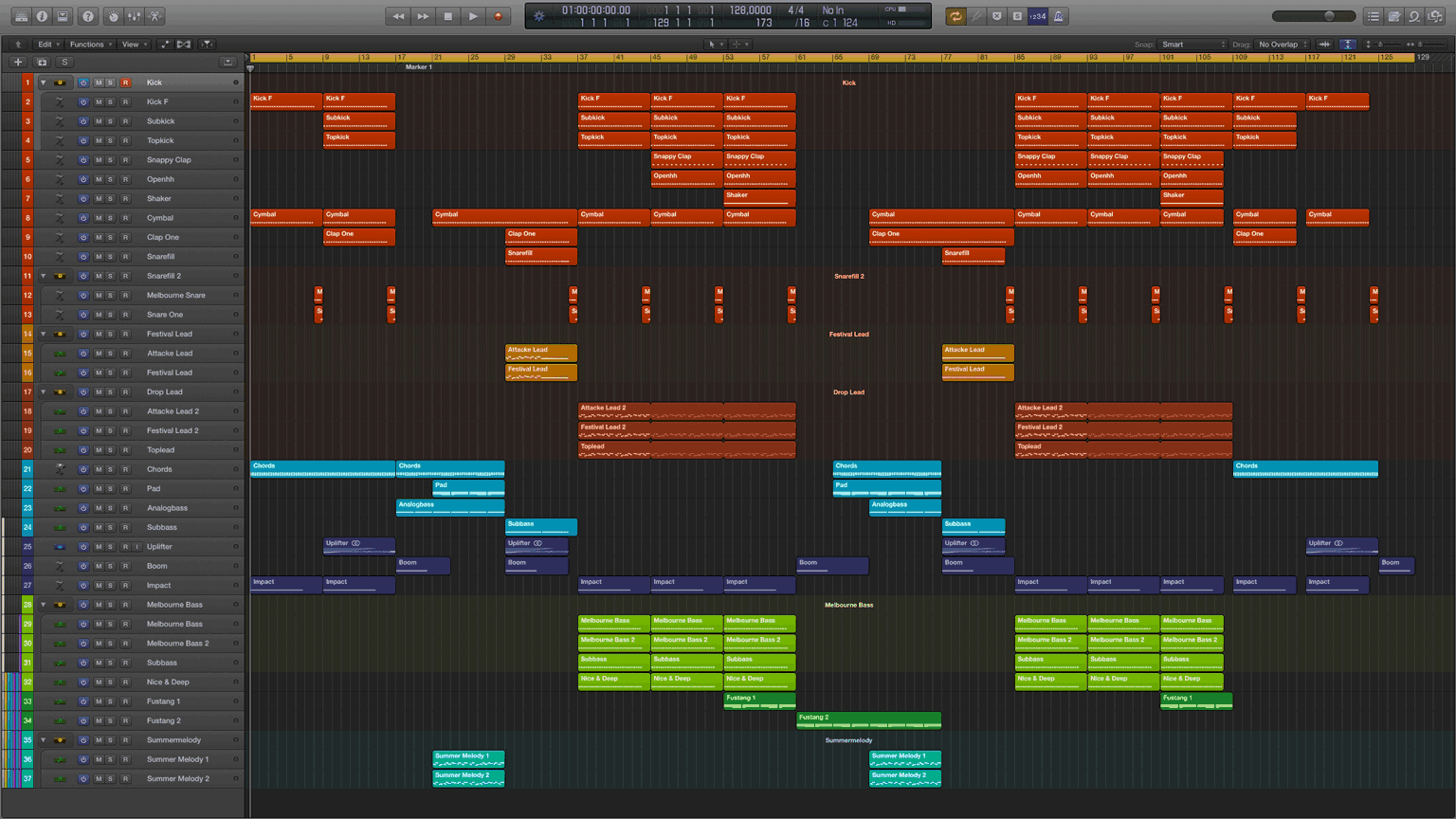 Festival-Bounce-Logic-X-Pro-Template1