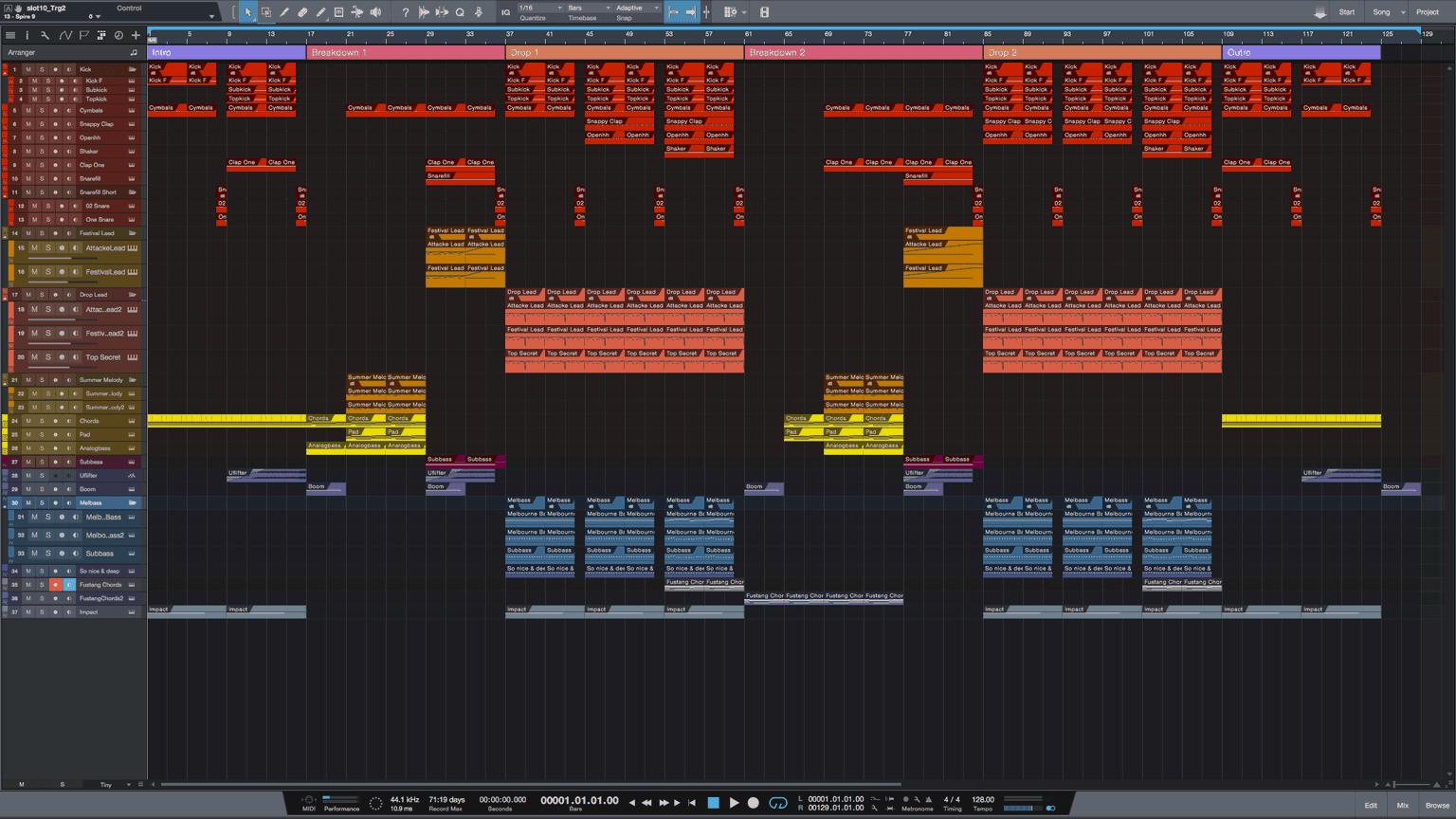 Festival-Bounce-Studio-One-Pro-Template1