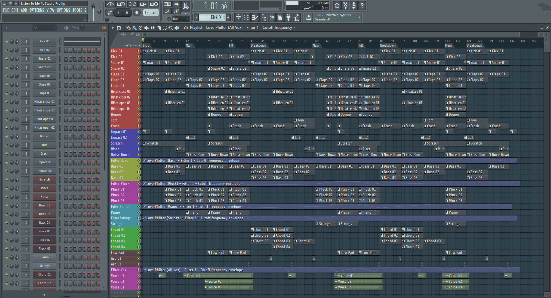 Listen To Me FL Studio Pro Template